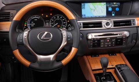 Interior del nuevo Lexus GS450h 2012