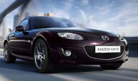 Mazda MX-5 Radiant Ebony