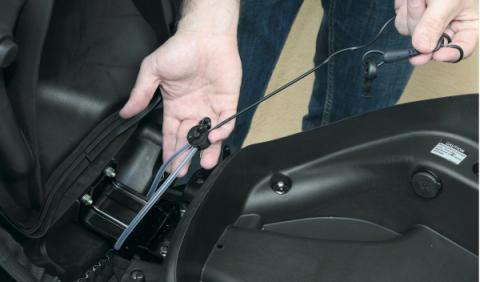 El arnés del airbag