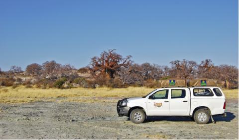 Toyota Hilux en Botsuana