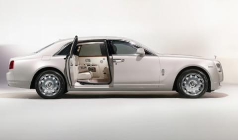 La puerta del Rolls Royce 'Ghost Six Senses'