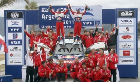Loeb ganador Rally Argentina 2011