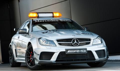 Mercedes C63 AMG Coupé Black Series DTM Safety Car