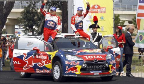 Victoria de Loeb y sexto puesto para Sordo