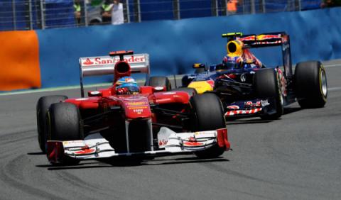 Alonso se estrena en Valencia