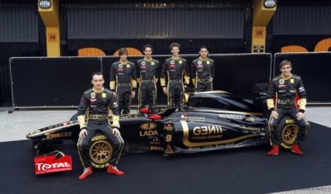 Renault, Lotus y Virgin de F1 cambian de nombre en 2012