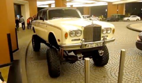 Un Rolls-Royce bigfoot por Dubai