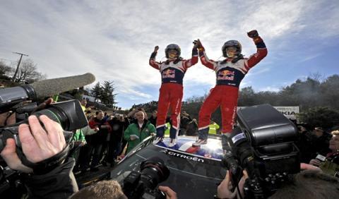 Loeb gana el Rally de Montecarlo por sexta vez