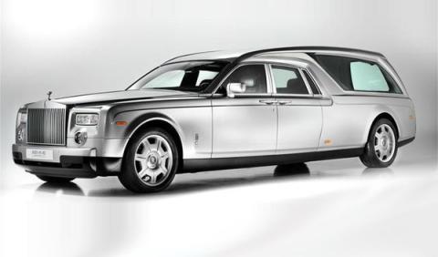 Rolls-Royce Phantom Hearse B12: un funeral cinco estrellas