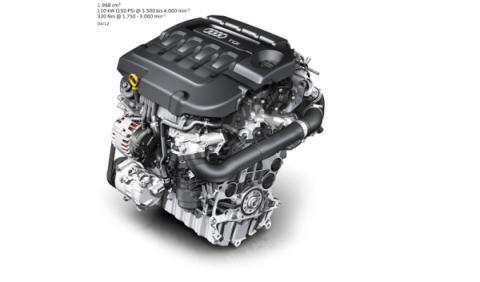 Motor 2.0 TDI del nuevo Audi A3