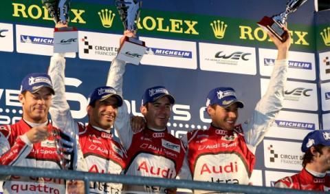 Marc Gené gana con Audi las 6 Horas de Spa-Francorchamps