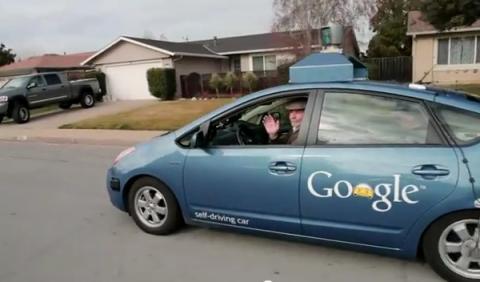 El coche de Google ya puede circular legalmente en Nevada