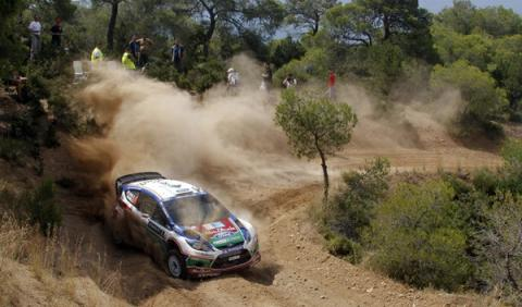 Rally Acrópolis 2012: regresa la emoción del WRC en Grecia