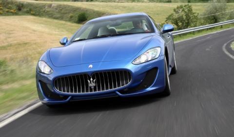 Maserati GranTurismo Sport exterior frontal