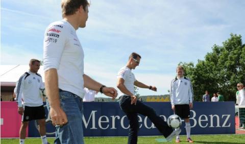 Michael Schumacher Nico Rosberg