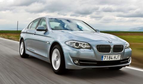 Frontal del BMW ActiveHybrid 5