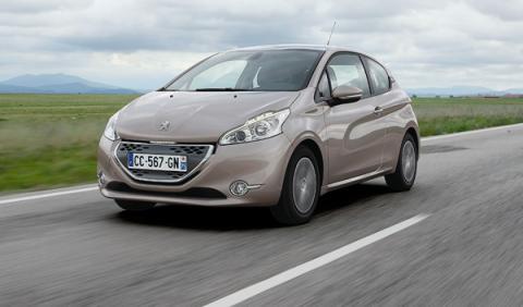 Peugeot 208 1.4 HDi 68 CMP dinámica frontal