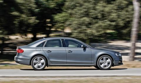 Audi A4 TDI exterior lateral
