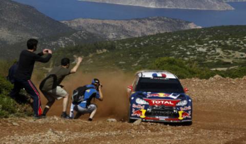 Loeb, nuevo líder en el Rally Acrópolis 2012