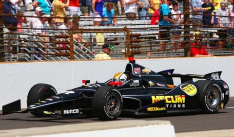 Oriol Servia, 500 Millas dew Indianapolis 2012