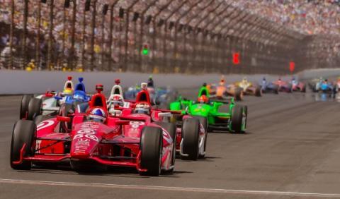 500 Millas de Indianápolis 2012, últimas vueltas