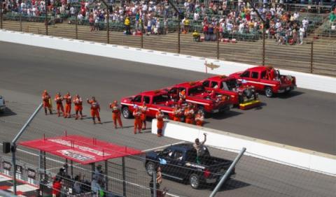 Bomberos, en las 500 Millas de Indianápolis 2012