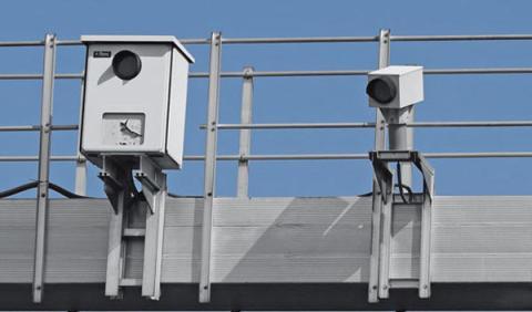 Los 25 radares que más multan en España
