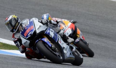 GP de Cataluña de Motociclismo: Lorenzo triunfa en MotoGP