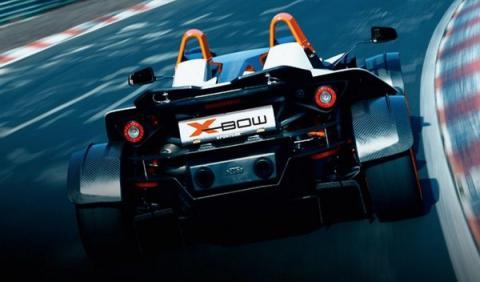 Trasera del KTM X-Bow