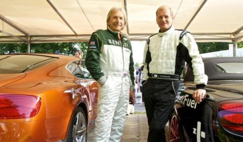 Pilotos de Bentley en Woodgood 2012