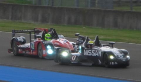 Nissan DeltaWing 24 horas Le Mans 2012
