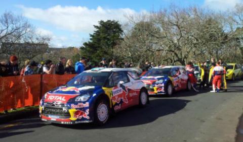 Loeb gana en el Rally de Nueva Zelanda 2012
