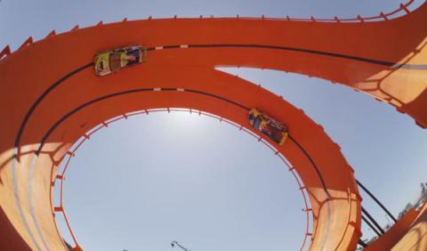 Hot Wheels bate un récord Guinness en los X Games