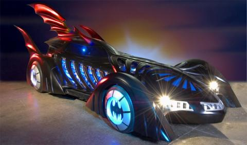 Los coches de Batman - batmovil