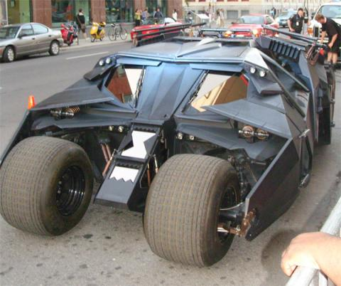 Los coches de Batman - Batmovil - Batman Begins