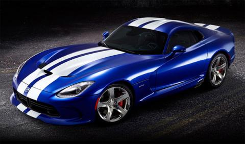 SRT Viper GTS Launch Edition delantera