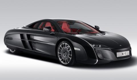 McLaren X-1 Concept frontal
