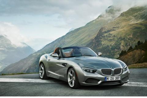 El frontal del BMW Zagato Roadster