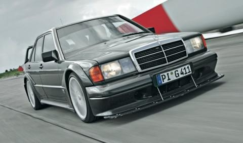 Mercedes 190 Mercedes 190 E 2.5 16 Evo II frontal