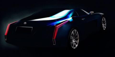 cadillac glamour concept