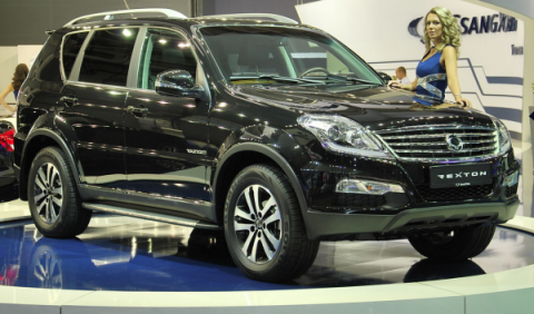 SsangYong Rexton, frontal