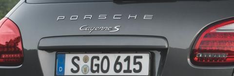Detalle Portón Cayenne S Diesel