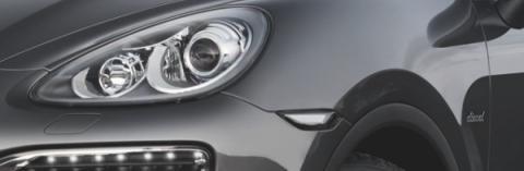 Detalle Diesel aletas delanteras