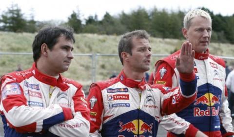 Loeb se impone en la calificación del Rally de Gales 2012