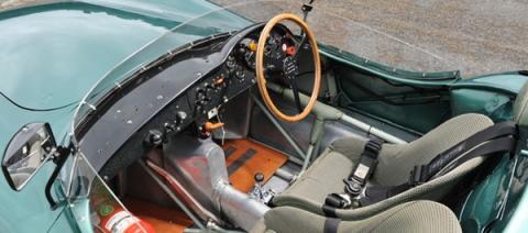 Aston Martin DBR1/2 interior Talacrest