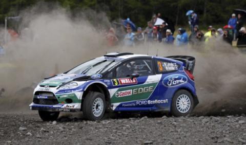 Latvala, primer líder en el Rally de Gales 2012