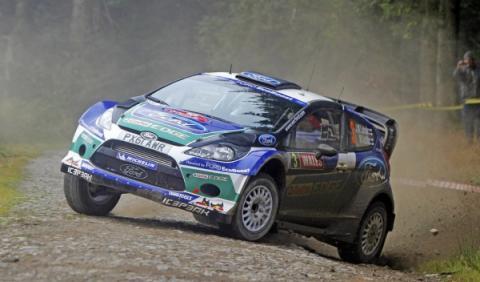 Latvala, intratable vencedor del Rally de Gales 2012