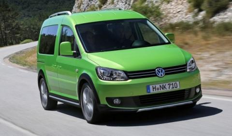 Nuevo Volkswagen  Caddy Cross 2013, frontal