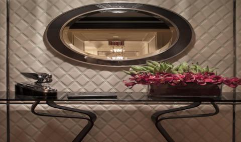 Otro detalle de la habitación diseñada por Bentley