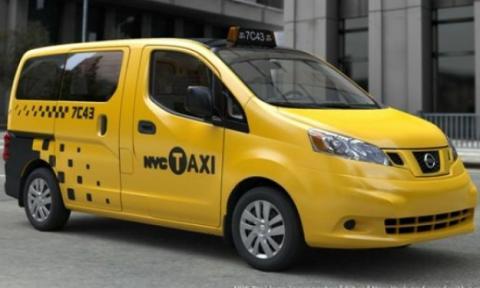 nissan taxi nueva york